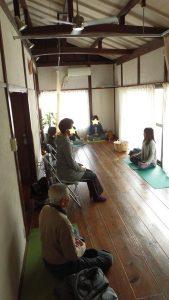 朝の瞑想会2