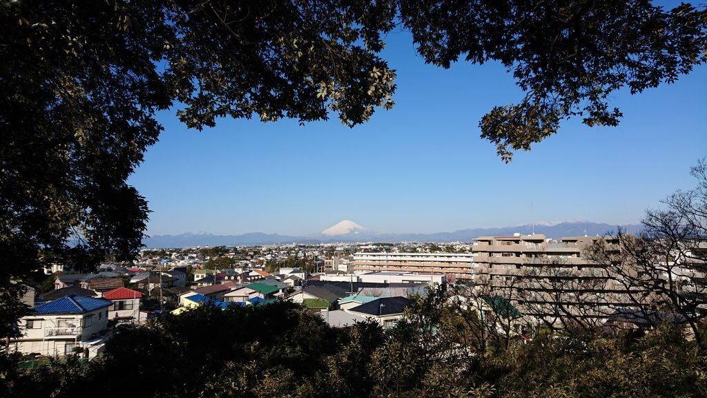 スマホデビューの富士山