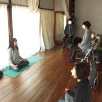 朝の瞑想会1