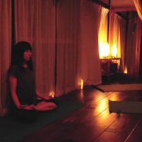 満月ヨガ&瞑想