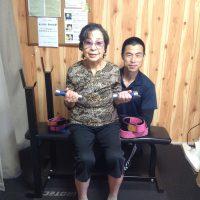 最高齢91才で加圧トレーニング